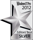 Windows IT Pro 2012 - Editors' Best - SILVER