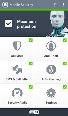Mobile: ESET Mobile Security for Android