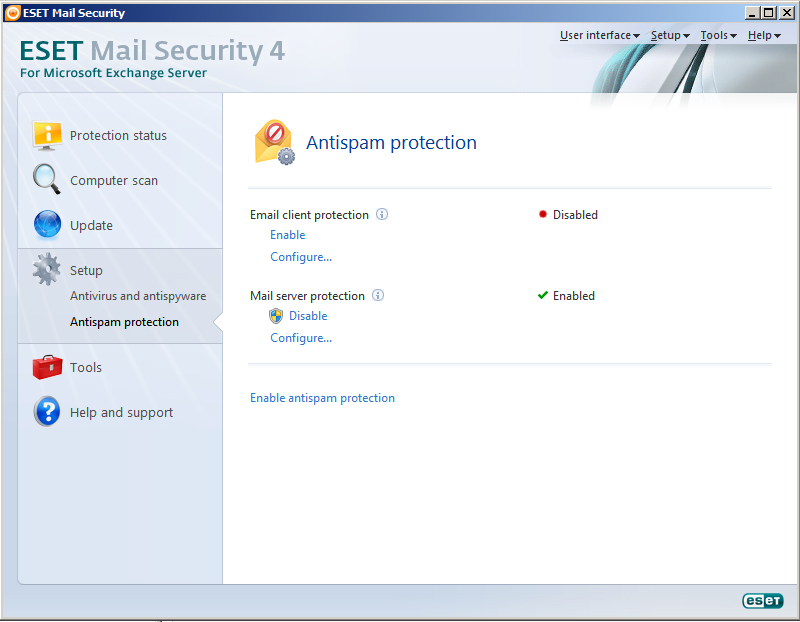 ESET Mail Security pre Microsoft Exchange Server 4.3