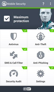 ESET Mobile Security BETA pre android